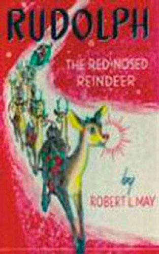 Dollhouse Miniature Rudolph the Red-Nosed Reindeer Book, Readable (Miniature Reindeer)