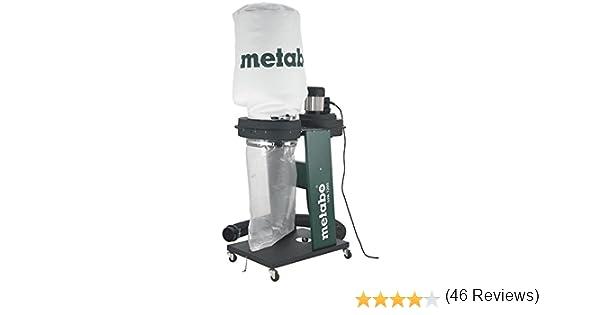 Metabo 6.01205.00 SPA 1200-monofásica-Aspirador Industrial, Negro ...
