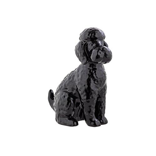 Black Ceramic Figurine (Prinz black Ceramic Poodle)