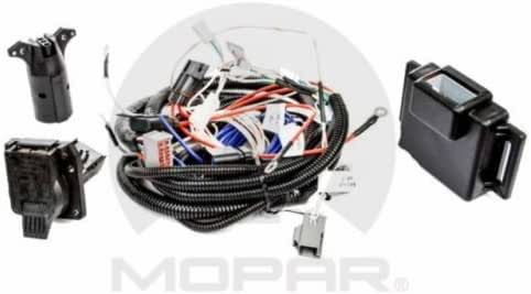 [SODI_2457]   Amazon.com: Mopar 82212521AE Trailer Tow Wiring Harness (Seven-Way Round,  Four-Pin Adapter), 1 Pack: Automotive | Four Wire Harness Adapter |  | Amazon.com