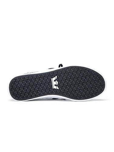 Mixte white Supra Heather Grau Cht Adulte Cuba charcoal Black Basses Sneakers qZwtHRWtp