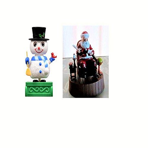 2016 Solar Rocking Chair Santa and Solar Dancing Snowman ...