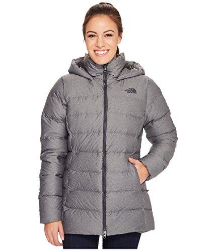 (The North Face Women's Nuptse Ridge Parka Jacket (TNF Medium Grey Heather/Asphalt Grey, Medium) )