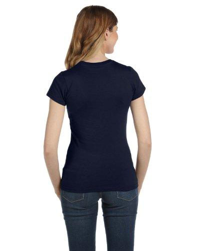 Corte Navy Anvil Blu Maglietta Maniche Donna qvqTE7B