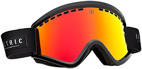 Electric Visual EGV Gloss Black Bronze Red Chrome Snow Goggle