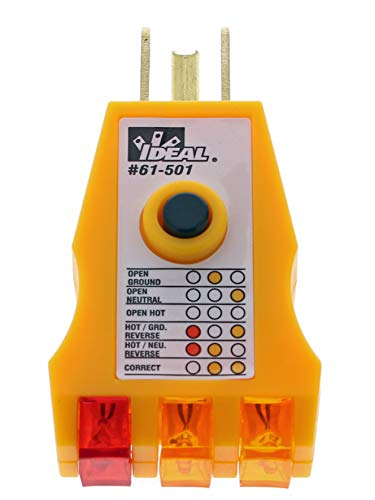 IDEAL INDUSTRIES INC. 61-501 E-Z Check Circuit Tester ()