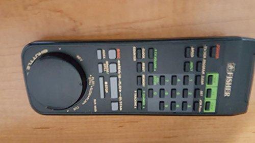 FISHER VCR REMOTE CONTROL RVR-4509 FVH-4509 FVH4509 ORIGINAL REMOTE