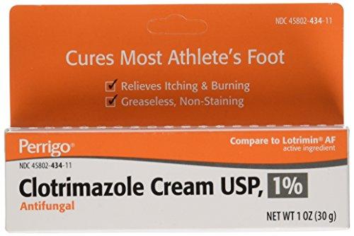 - Clotrimazole Generic Lotrimin Anti-Fungal Cream USP, 1 oz