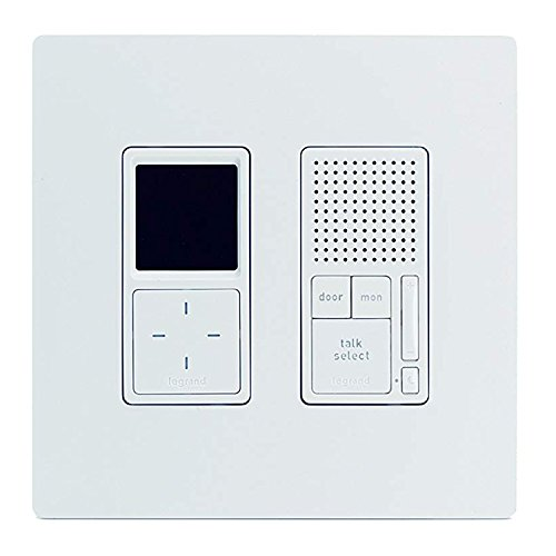 Legrand - On-Q IC7400WH IC7400-WH Radiant Selective Call 4 Room Intercom Kit OnQ legrand Radiant Selective Call 4 Room Intercom Kit, White, Replaces IC5400-Whwhite ()