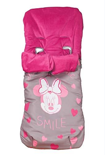 Disney Saco Universal Polar Para Silla Paseo Minnie Textil Casa Moda