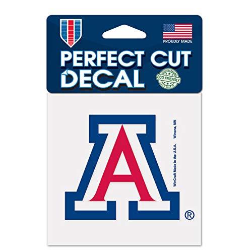 WinCraft NCAA University of Arizona 52830012 Perfect Cut Color Decal, 4