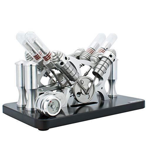DjuiinoStar Hot Air Stirling Engine(4-Cylinder)