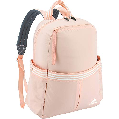 adidas VFA Backpack, Glow Pink/White, One Size