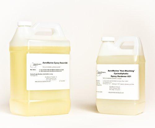 AeroMarine Rock and Pebble Paving Epoxy Resin Kit 1.5 gallons -