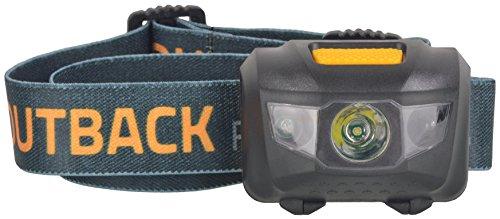 Outback Cobber XLS Motion Sensor Headlamp 120 Lumen on High 60 on Low 3 Watt Cree LED Includes 3 AAA Alkaline Batteries Motion Sensor Mode for Hands Free On/Off