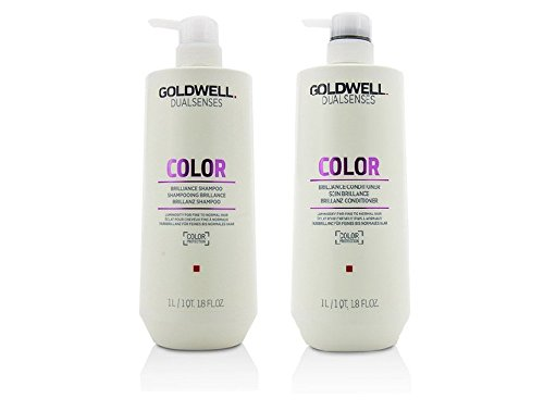 Goldwell Dualsenses - Color Brilliance Shampoo Conditioner Duo 1 Liter ()