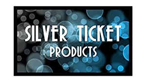 """STR-169120-G Silver Ticket 4K Ultra HD Ready Cinema Format (6 Piece Fixed Frame) Projector Screen (16:9, 120"""", Grey Material) from Silver Ticket Products"""