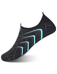 JOINFREE Womens Mens Quick-Dry Barefoot Water Sports Shoes Aqua Socks for Swim Beach Pool Surf Yoga