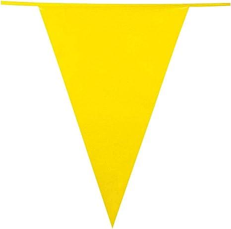 Boland XL Bianco Guirnalda con banderines 45x30