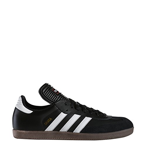 25e9349c7 adidas Men's Samba Classic Soccer Shoe,Black/Running White,10.5 M US ...