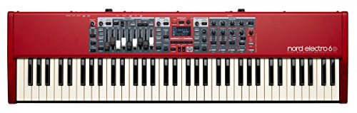 Nord Electro 6D 73 Stage Piano, 73-Note Semi-Weighted Waterfall Keybed from Nord