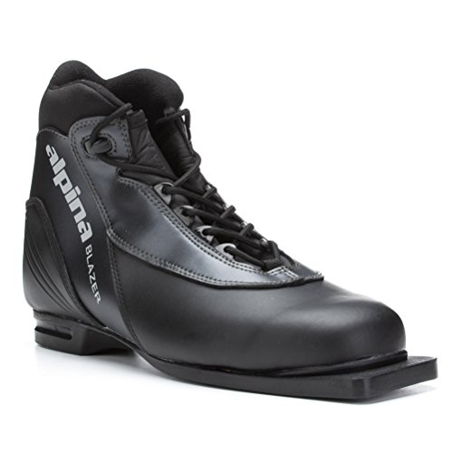 Alpina Blazer Cross Country Ski Boots 2011 42 - Black-Anthricite