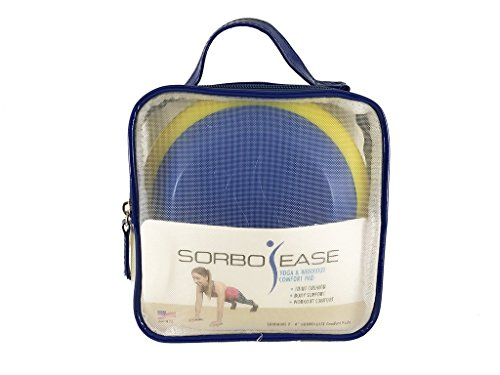 Sorbo-Ease Yoga & Workout Comfort Pad - Set of 2 with Travel Bag by Sorbothane