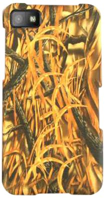 Cell Armor BBZ10-SNAP-WFL032 Snap-On Case for BlackBerry Z10 - Retail Packaging - Hunter Series with Shredder Grass