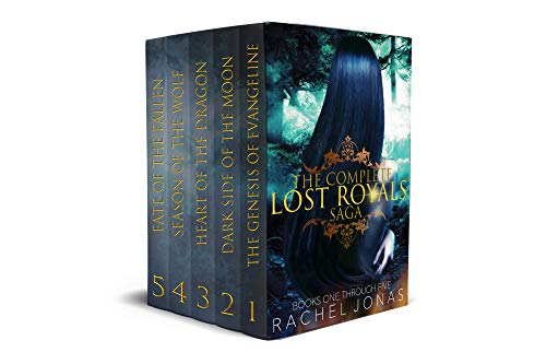 The Complete Lost Royals Saga (Seaton Falls Academy Box Set) by [Jonas, Rachel]