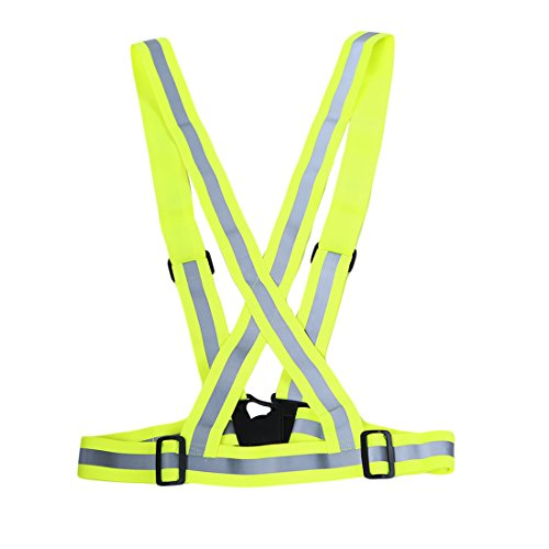 Price comparison product image GUAngqi Safety Reflector Bands Vest Night Safety Reflective Jacket
