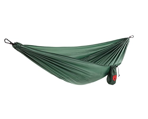 Grand Trunk Ultralight Hammock |Starter Hammock | Portable Camping, Hiking, Backpacking, and Travel Hammock - Green ()