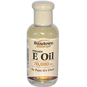 Sundown Naturals, Vitamin E Oil, 70,000 IU, 2.5 fl oz (75 ml) - 3PC