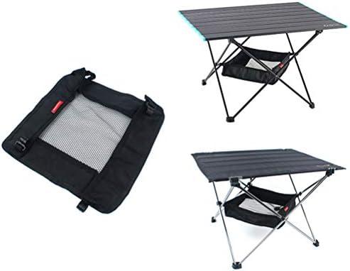 Mankoo Outdoor klaptafel opbergmand draagbare hangmand camping tas afwerking net voor wild rek picknick camping opslag mesh tas geen tafel
