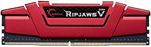 G.SKILL Ripjaws V Series DDR4 2666 PC4-21300 288-Pin 8GB (8GB x 1) Desktop Memory Kit Model F4-2666C19S-8GVR