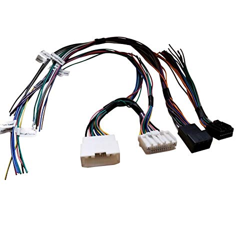 PAC Audio APH-CH01 Speaker Connection Harness for Select 07-17 Chrysler, Dodge, Jeep and Ram Vehicles with Amplified Systems