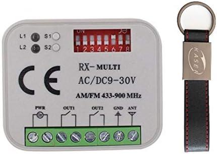 Empfänger Radio Receiver Fernbedienungen faac 433 868 Automatisierung Rxmulti