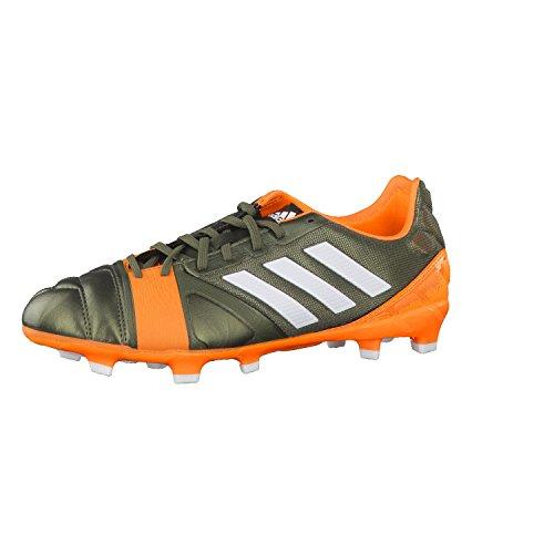 adidas Fussballschuhe nitrocharge 2.0 TRX FG 48 2/3 earth green s13/running white/solar zest