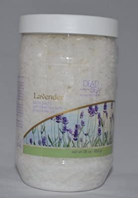 Dead Sea Collection Mineral Bath Salt with Lavender to revive and calm your senses. 34.2 oz. jar
