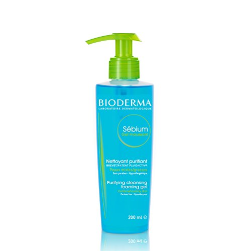 Makeup Remover Biotherm (Bioderma Sébium Foaming Gel Facial Cleanser for Combination to Oily Skin - 6.67 fl. oz.)