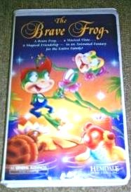 The Brave Frog [VHS] (Barrons Frogs)