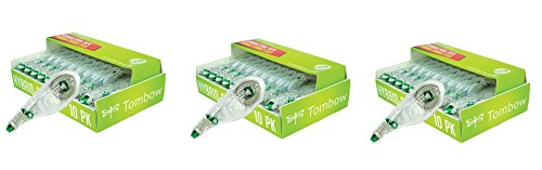 Tombow Mono Hybrid Correction Tape, 10-Pack (3X 10 Pack) by Tombow