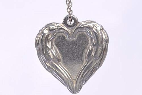 2 Pcs - 21x20MM Heart Charm Double Side Stainless Steel Charm (61535) #YBL_22282