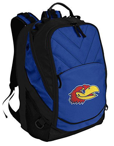 Broad Bay KU Jayhawks Backpack University of Kansas Bag w/Laptop Section ()