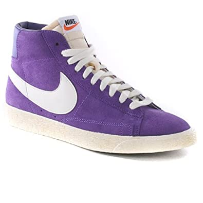 competitive price 6bffd 0f366 Nike Blazer Suede Vintage, Purple Uk Size  10