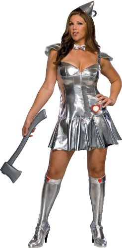 Plus-Size Tin Man Costume