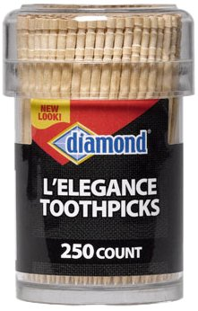250-ct Diamond L'elegance Toothpicks by Diamond