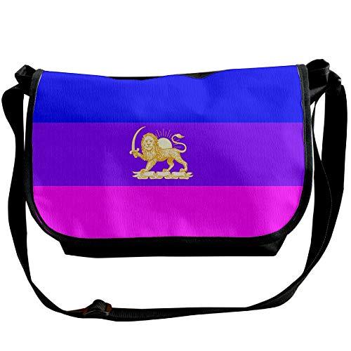 Travel Bag Pride Designer Lion Men's Fashion Bag Bisexual Crossbody Bag Flag Black Versipacks FUzXXwq
