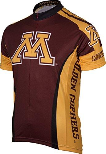 NCAA Minnesota Golden Gophers Cycling Jersey, 3X-Large, Maroon