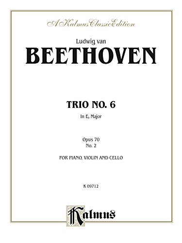 Trio in B-flat for Two Violins: For Two Violins and Cello: 0 (Kalmus Edition)