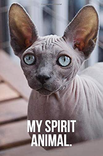 My Spirit Animal: Sphynx Cat Journal